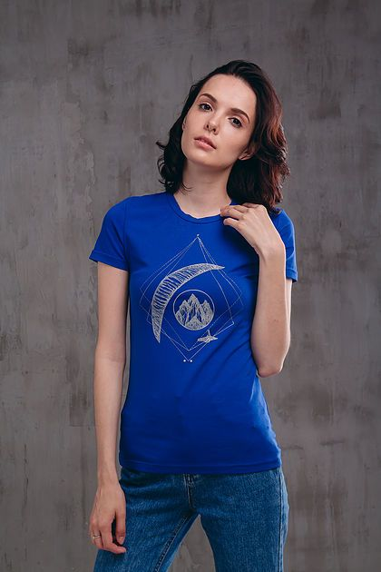Paragliding women cool t-shirtd with print