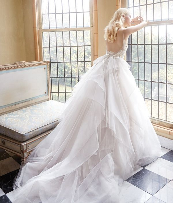 "Style 9605 by Alvina Valenta, Spring 2016 Collection""The Dreamers"" / 20 Utterly Romantic Ballerina-Inspired Wedding Dresses"