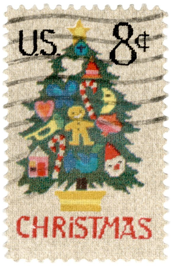 Christmas Postage Stamp Stock Photos In 2020 Vintage Postage Stamps Christmas Stamps Postage Postage Stamps Usa