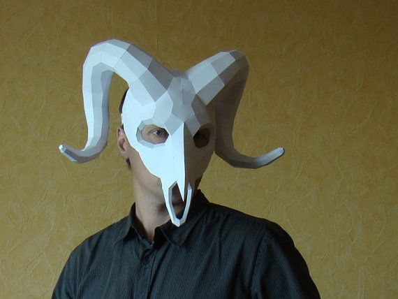 Ram Mask Ram Skull Mas...