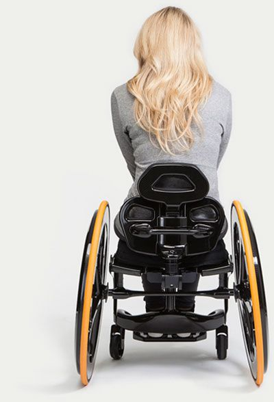 Carbon Black Lightweight Wheelchair | carbon fibre wheelchair.  >>> See it. Believe it. Do it. Watch thousands of spinal cord injury videos at SPINALpedia.com