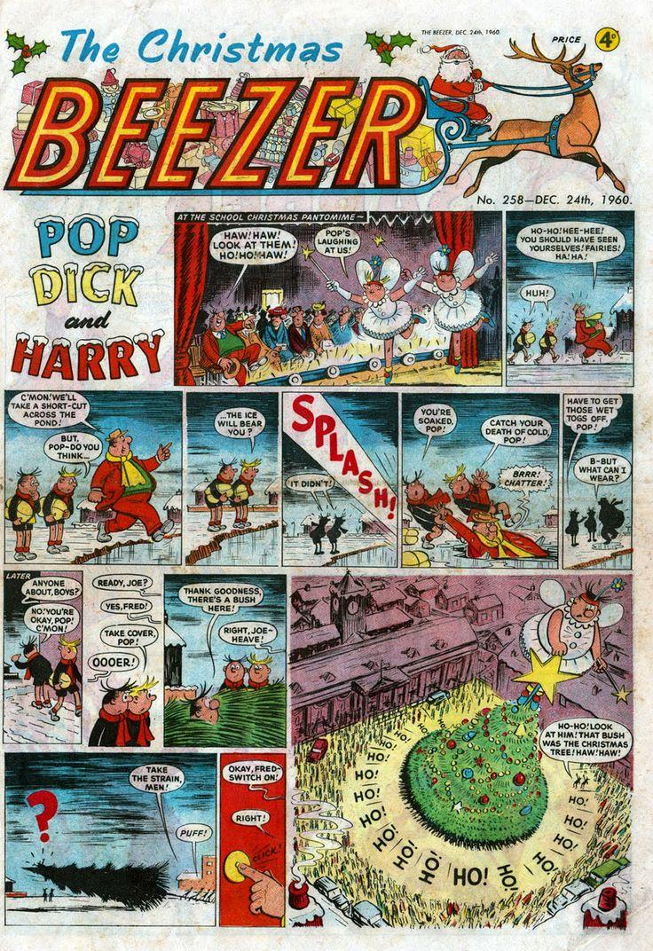Beezer Christmas 1960