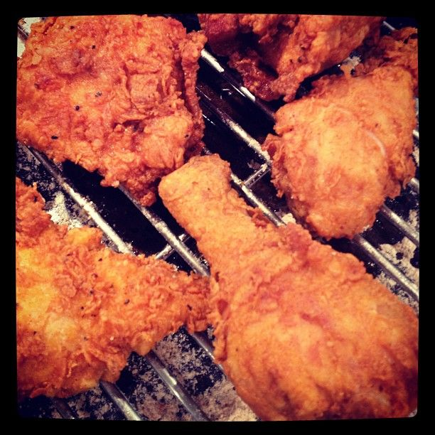 """Perfect Fried Chicken from """"The Help"""" class"""