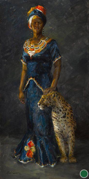 Rene Snyman - An African Queen