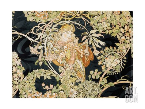 Young Woman, 1898-99 by Alphonse Mucha 119*85 on giclee print 148.99€