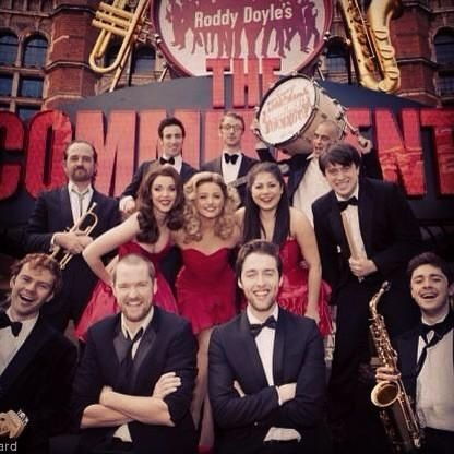 Cast of The Commitments.