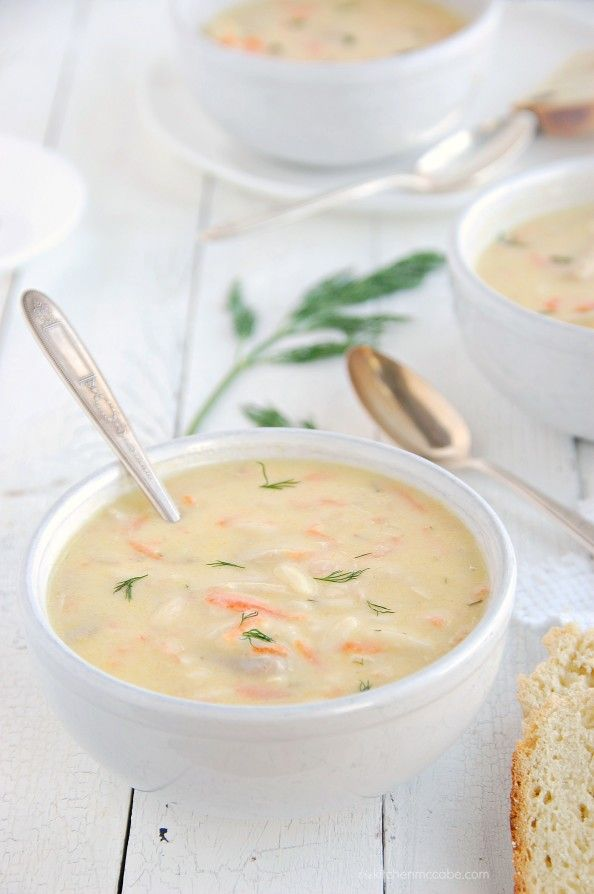 Avgolemono Soup{Greek Lemon Chicken Soup}