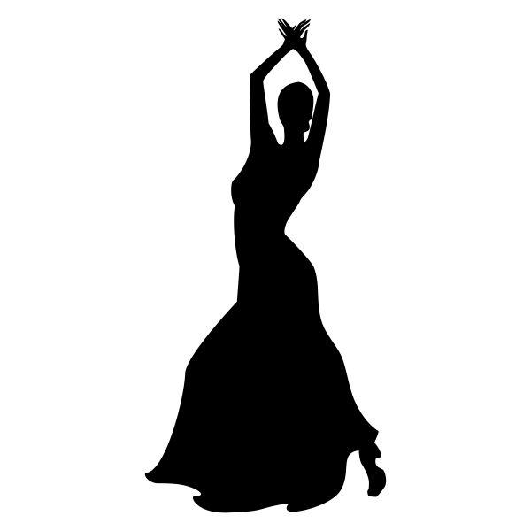 silueta de bailarina flamenca - Buscar con Google