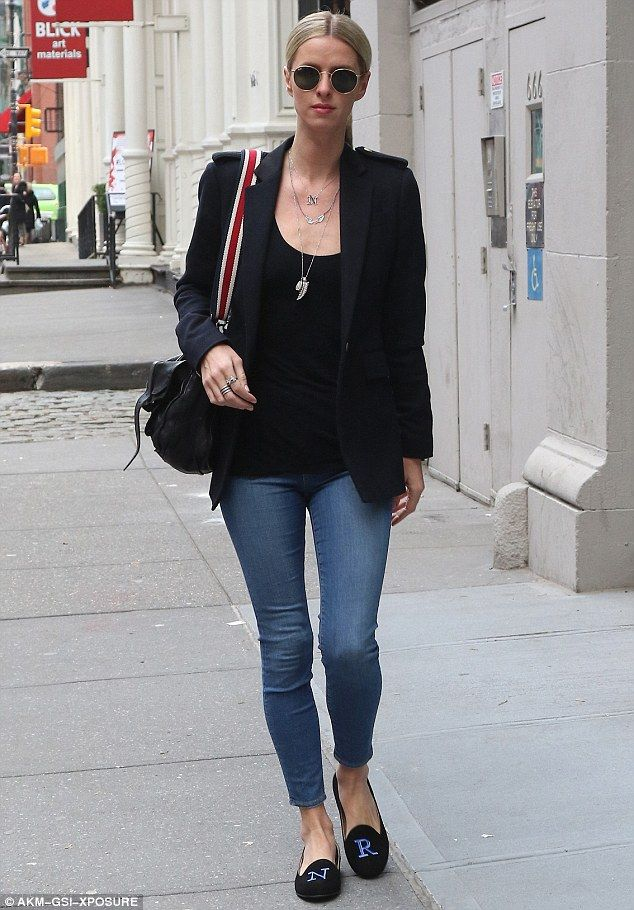 Casual chic: Nicky Hilton stepped out in casual chic style on Thursday in New York City...