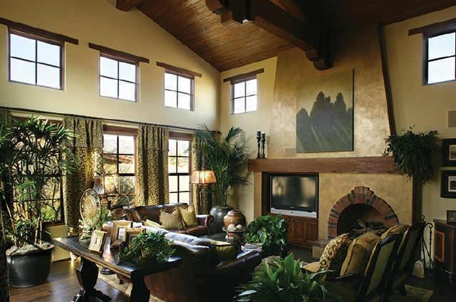 Hacienda Living Room For The Home Pinterest