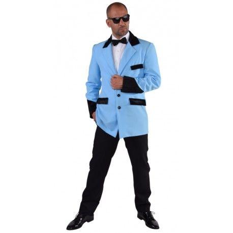 d guisement veste rock 39 n roll homme ann es 50 60 luxe d guisement grande taille adulte. Black Bedroom Furniture Sets. Home Design Ideas