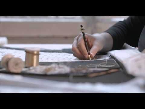 """Second video in the series - Le Petit Théâtre Dior - Haute Couture in miniature"""" . I loved watching these short films....they are amazing..."""