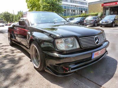 BENZTUNING: Mercedes-Benz W124 300CE ABC Widebody Cabriolet