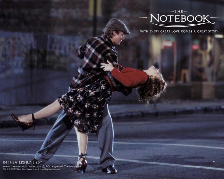 """The notebook"", USA, 2004.Ryan Gosling, The Roads, The Notebooks, Romantic Movie, Thenotebook, Nicholas Sparkly, Favorite Movie, Rachel Mcadams, Dance"