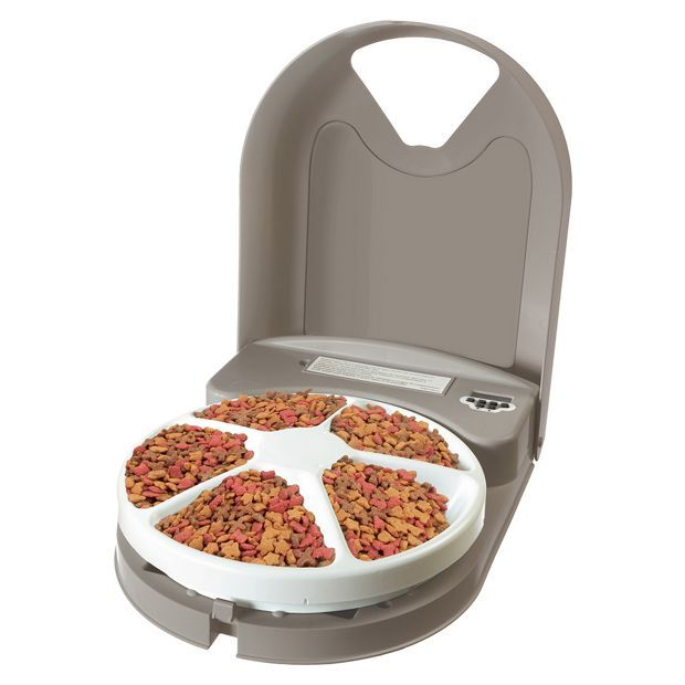 Buy Eatwell 5 Meal Pet Feeder at Argos.co.uk, visit Argos.co.uk to shop online for Dog bowls and feeders, Dog, Pet supplies, Home and garden