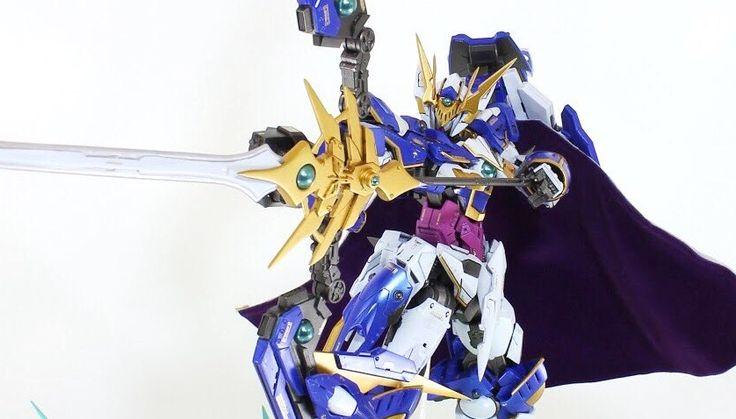"Custom Build: MG 1/100 00 Qan[T] ""Knight"" [GBWC 2017] - Gundam Kits Collection News and Reviews"