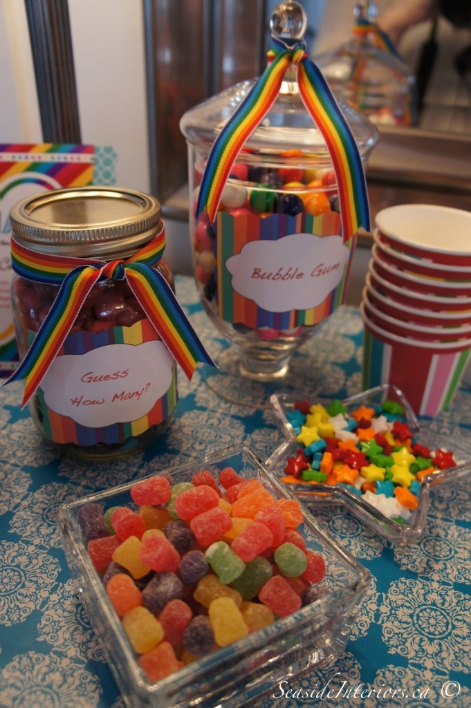 17 best images about rainbow candy bar on pinterest for Food bar rainbow moon