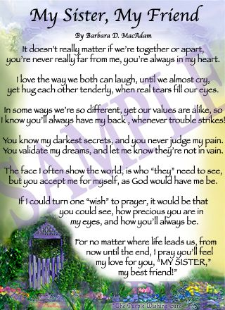 Prayer For My Sister Quotes New 122 Best Sisters Are Special Images On Pinterest  Sisters Sister