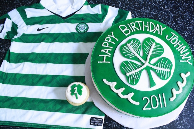 43 Best Images About Celtic Cakes On Pinterest Football