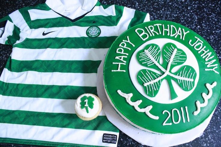 Celtic Soccer Birthday #CelticFootballCakes
