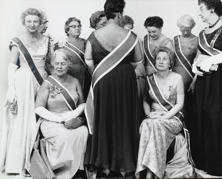 Richard Avedon. The Generals of the Daughters of the American Revolution, DAR Convention, Mayflower Hotel, Washington D. C.. October 15, 1963
