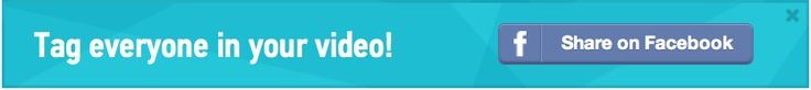 Sharing Animoto Videos on Facebook Just Got Easier