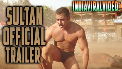 India  Viral  Video       SULTAN Official Trailer 2016 | Salman Khan | Anushka Sharma          ...