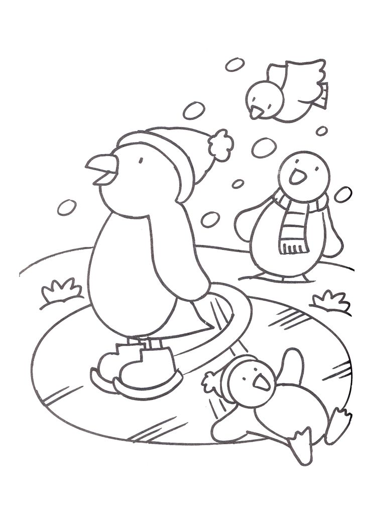 schaatsende-pinguins.gif 1.654×2.339 pixels