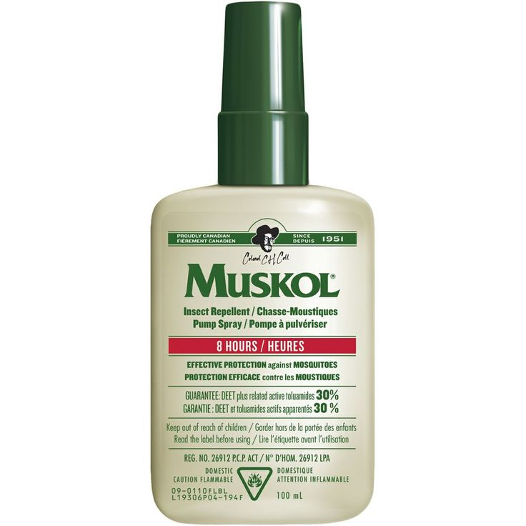 Muskol 30% Deet Insect Repellent Pump - 100ml - Mountain Equipment Co-op. Free Shipping Available