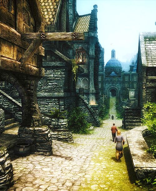 Prettiest Places Skyrim: 161 Best Images About Medieval Towns And Cities On