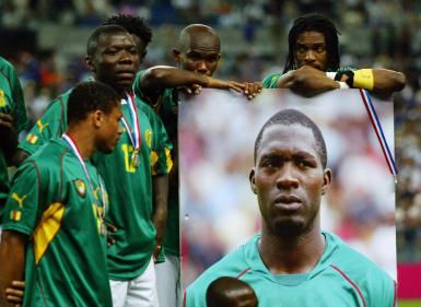 Marc Vivian Foe died representing Cameroon on an intercontinental football competition on the 23rd of June 2003.He was the best midfielder of all time for the Cameroonian national team.