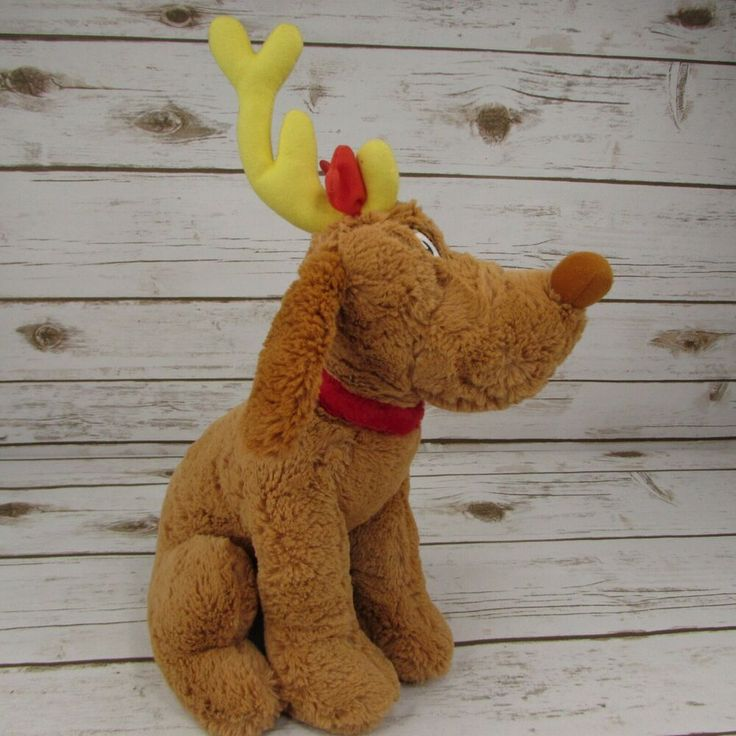 """Seuss The GRINCH Who Stole Christmas 14/"""" GRINCH Plush Doll  ***USA SELLER*** Dr"""