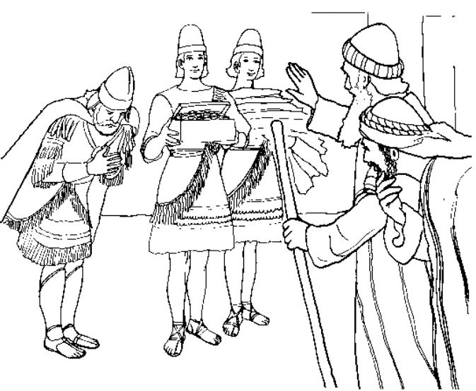 bible coloring pages naaman - photo#20