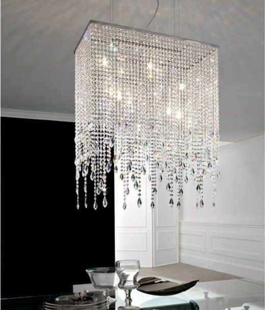 Modern Glass Crystal Lamp by Cattelan Photo 4