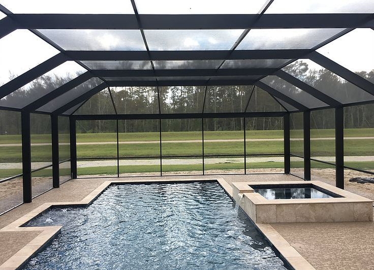 Southern Screen Pool Enclosure by All Weather Pool and Patio