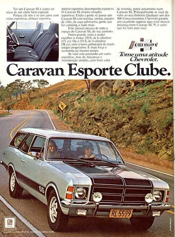 PROPAGANDAS NACIONAIS Caravan 1979