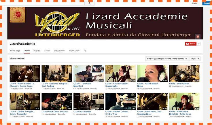 Questo è il canale ufficiale dell'Accademia Lizard! Presto ci saranno novità importanti... se volete stare aggiornati: Iscrivetevi #iscrizione #youtube #lizardaccademie #laforzadelgruppo https://www.youtube.com/user/LizardAccademie