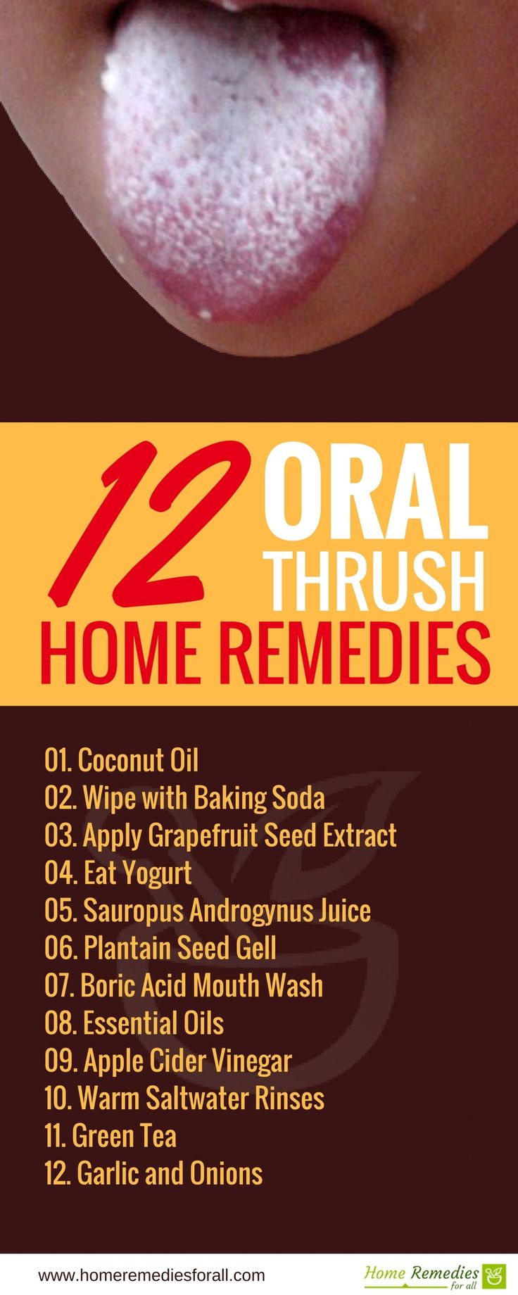 herbal remedies for oral thrush