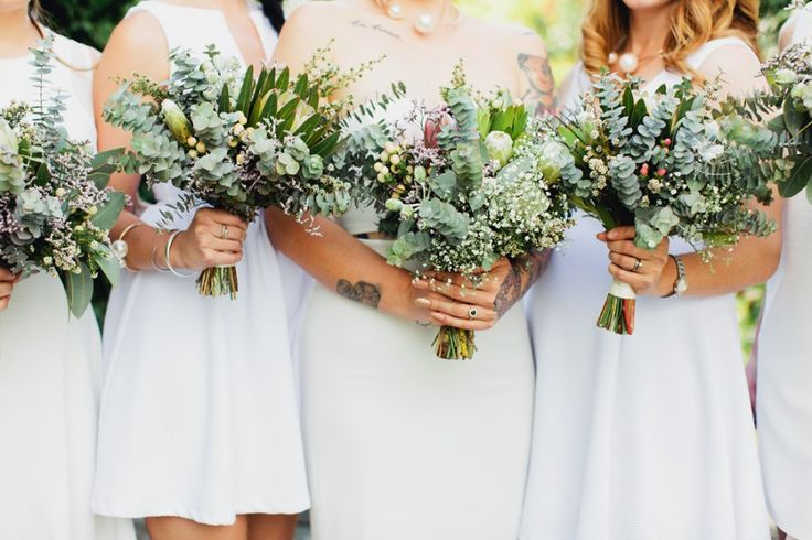 Native Australian wedding bouquets