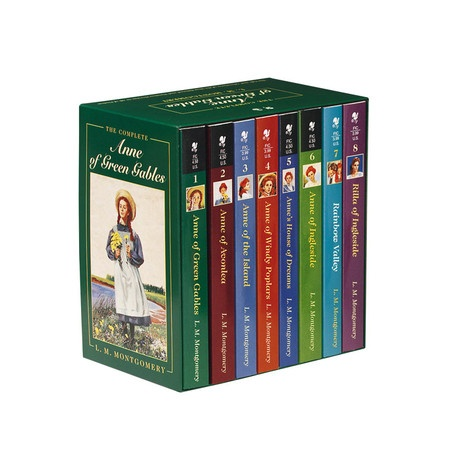 I pinned this Complete Anne of Green Gables Boxed Set from the Family Storytime event at Joss and Main!