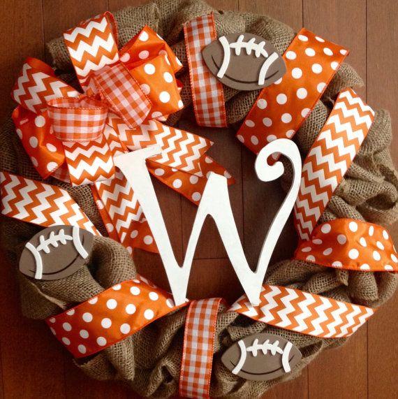 TN Vols Wreath Vols Door Hanger Tennessee by Studio31TenGifts