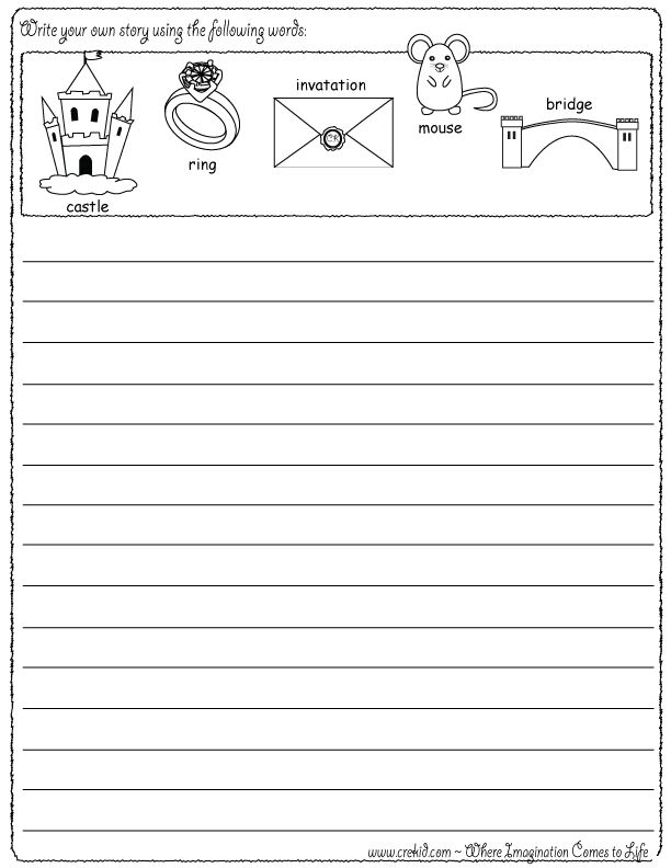 Letter Writing Prompts For Nd Grade
