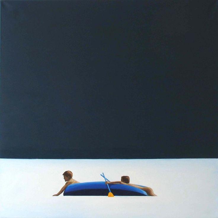 "Julita Malinowska; Oil 2007 Painting ""VII.2007 I"""