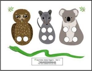 Puppet Play — Australian Animals