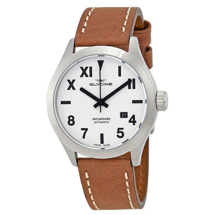 Glycine Incursore Silver Dial Automatic Men's Watch GL0042 - Incursore - Glycine - Watches - Jomashop