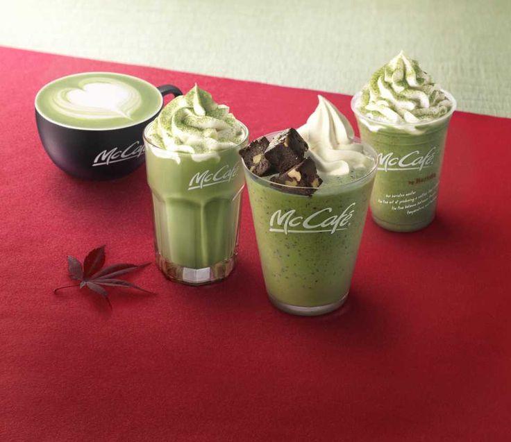 マックカフェに抹茶チョコレートブラウニーフラッペが新発売抹茶とブラウニーが相性抜群