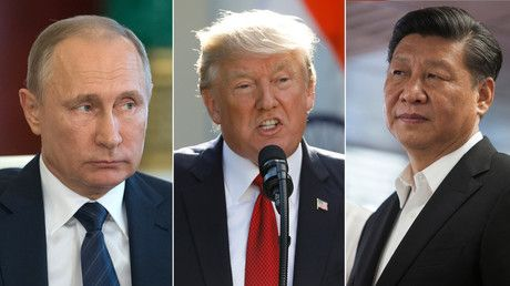 """Russia, US & China able to join forces in tackling global challenges – Lavrov https://tmbw.news/russia-us-china-able-to-join-forces-in-tackling-global-challenges-lavrov  Russia, the US, and China uniting to tackle global challenges is still a realistic scenario, given the three nations' influence on international affairs, Russian Foreign Minister Sergey Lavrov said.""""It is impossible to speak of a scenario [in which] the US and China would unite against Russia, or Russia and China would stand…"""