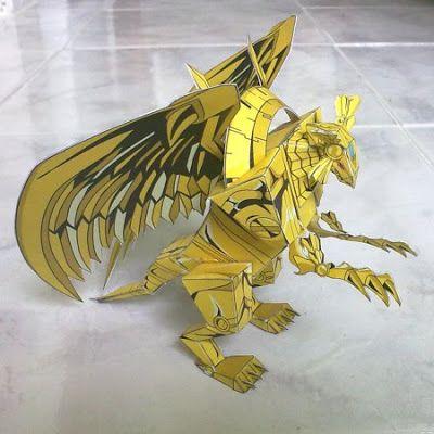 #YuGiOh Winged Dragon of Ra #Papercraft