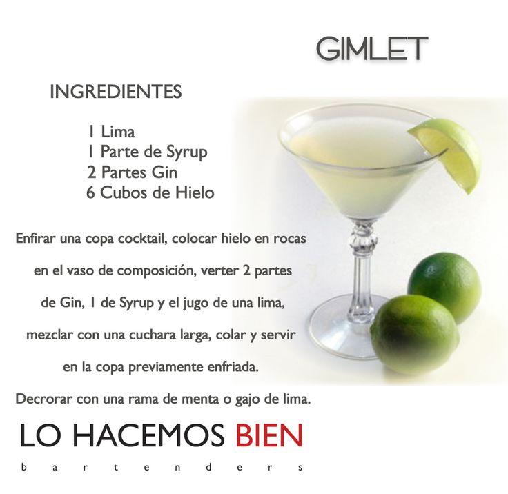Gimlet - Festejá con Estilo! de LO HACEMOS BIEN bartenders Como preparar un Gimlet - Recipie How to prepare a Gimlet - Party with style!