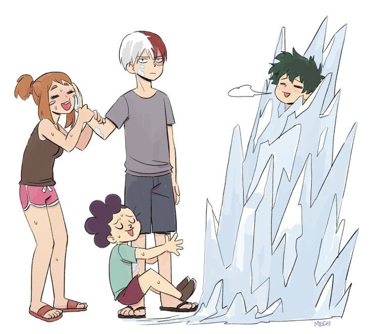 Summer time with Shouto